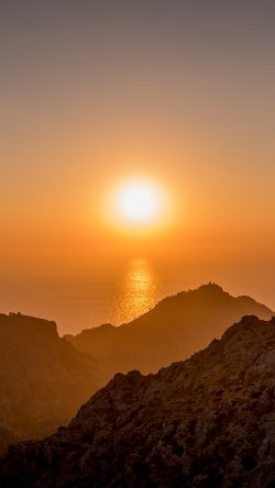 papers.co-nk66-sea-sunset-afternoon-rock-mountain-orange-33-iphone6-wallpaper