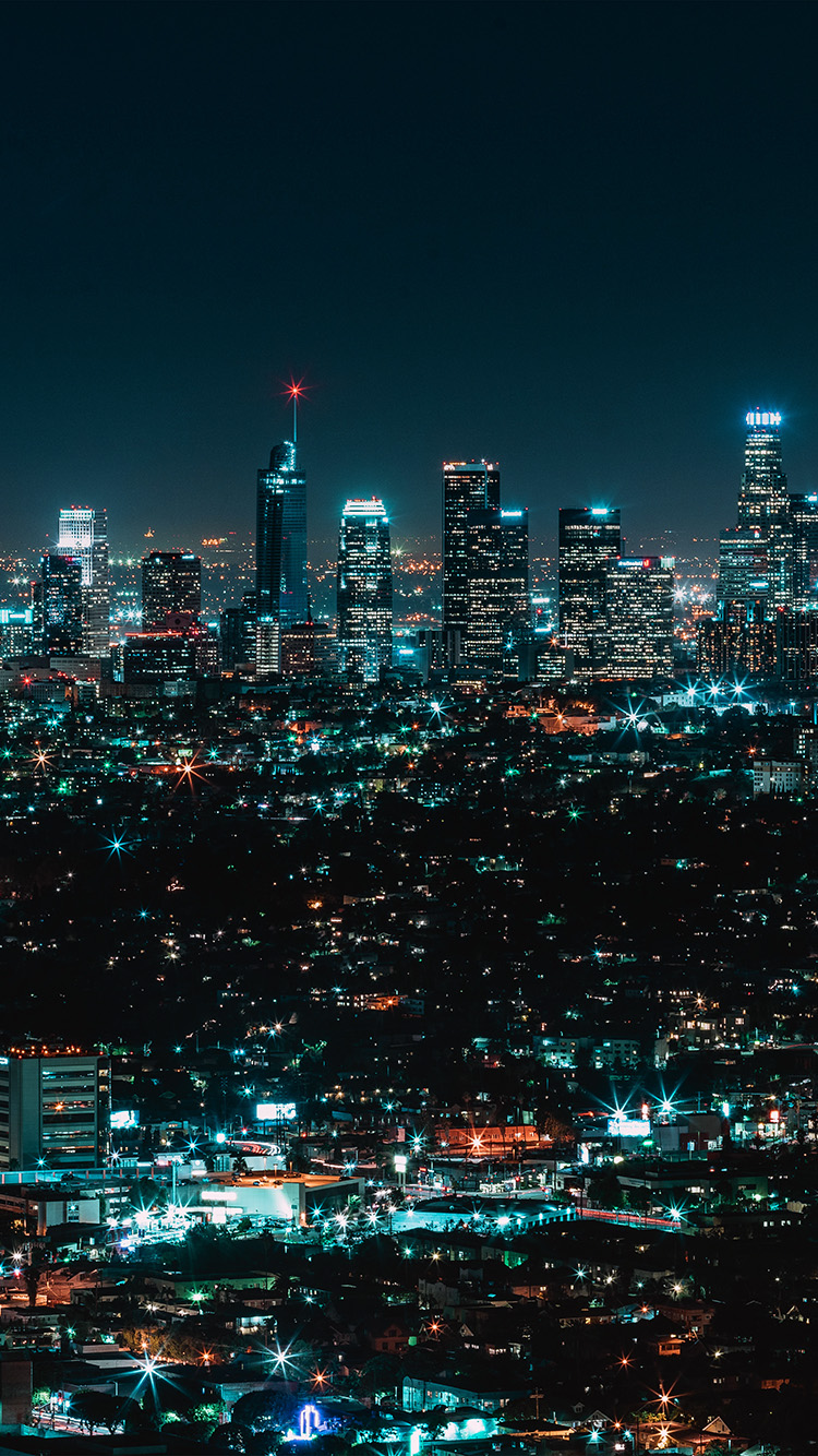 Iphone6papers Com Iphone 6 Wallpaper No13 City View Night