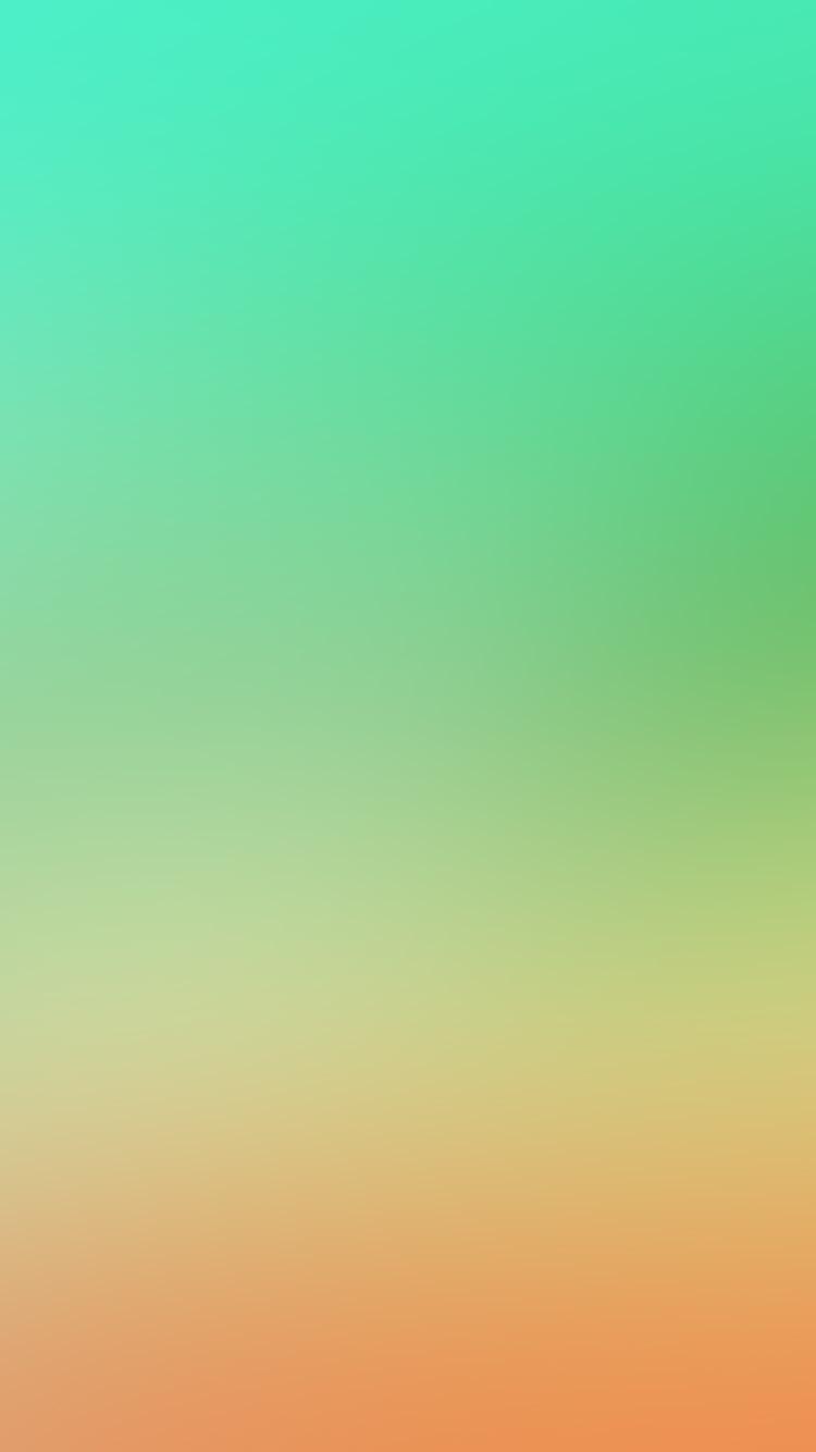 papers.co sl29 soft green orange blur gradation 33 iphone6 wallpaper