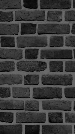 papers.co-vf57-brick-texture-wall-bw-black-nature-pattern-33-iphone6-wallpaper