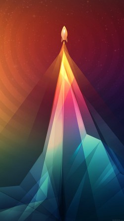 papers.co-vg86-rainbow-tower-graphic-digital-pattern-33-iphone6-wallpaper