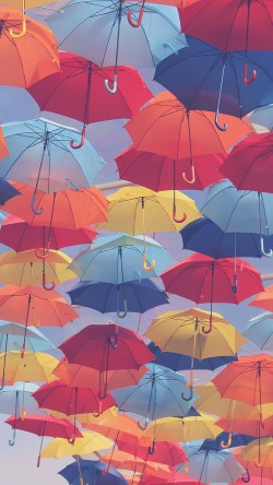papers.co-vh37-umbrella-party-color-pattern-33-iphone6-wallpaper
