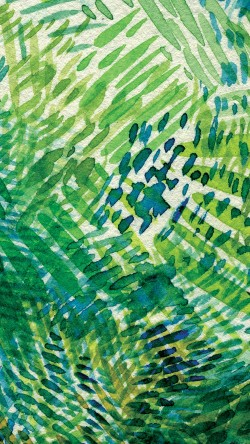papers.co-vh92-spring-art-green-blue-watercolor-pattern-33-iphone6-wallpaper