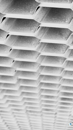 papers.co-vi92-honeycomb-metal-white-pattern-33-iphone6-wallpaper