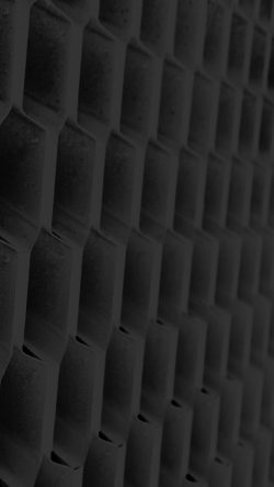 papers.co-vi93-honeycomb-metal-dark-bw-pattern-33-iphone6-wallpaper