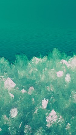papers.co-vj10-samsung-galaxy-6-background-pattern-green-ice-33-iphone6-wallpaper