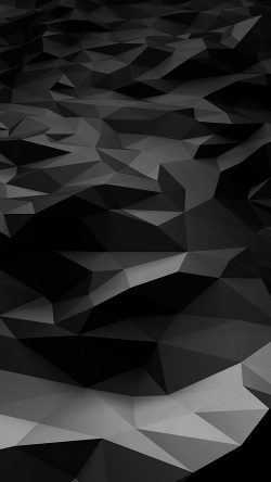 papers.co-vj29-low-poly-art-dark-bw-pattern-33-iphone6-wallpaper