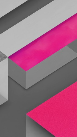 papers.co-vl13-marshmallow-android-hotpink-triangle-pattern-33-iphone6-wallpaper