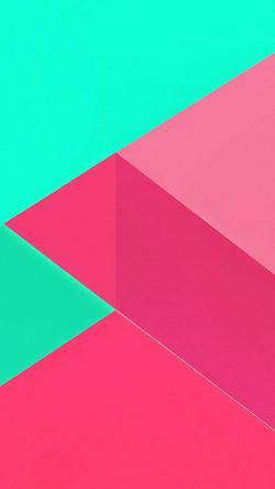 papers.co-vl20-android-marshmallow-new-green-pink-pattern-33-iphone6-wallpaper
