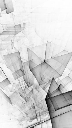 papers.co-vl91-abstract-bw-white-cube-pattern-33-iphone6-wallpaper