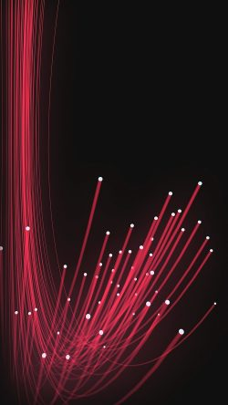 papers.co-vn54-xray-red-lines-curve-pattern-dark-33-iphone6-wallpaper