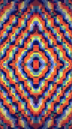 papers.co-vn92-color-rainbow-art-lovely-pattern-abstract-orange-33-iphone6-wallpaper