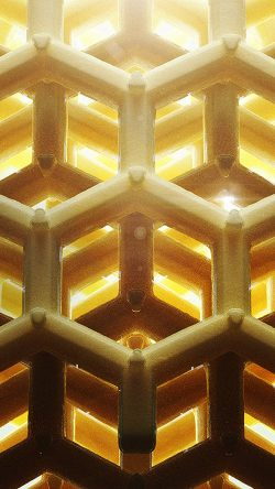 papers.co-vp88-honey-cube-gold-pattern-33-iphone6-wallpaper