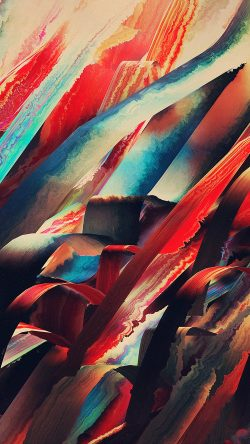 papers.co-vr51-watercolored-lines-hampus-olsson-art-red-pattern-33-iphone6-wallpaper