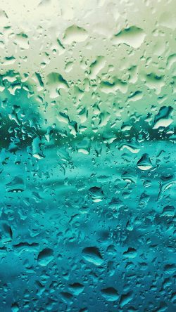 papers.co-vr68-rain-drop-window-blue-pattern-33-iphone6-wallpaper