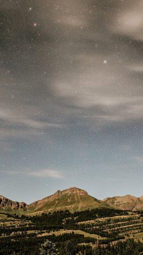 no38-night-mountain-sky-star-summer-nature