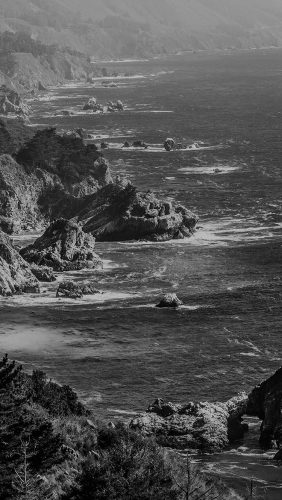 my16-sea-ocean-rock-nature-mountain-summer-dark-bw