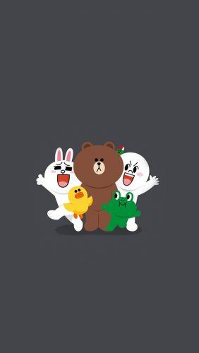 bh18-line-friends-chracter-cute-art-anime